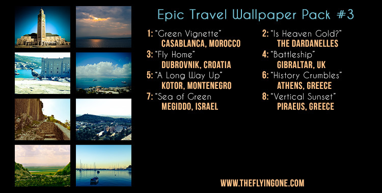 THIRD EPIC WALLPAPER TRAVEL PACK!