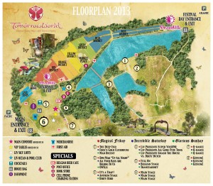 Tomorrowworld 2013 Map
