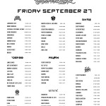 Tomorrowworld 2013 Printer Friendly Lineup