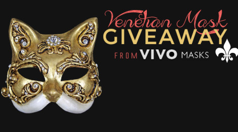 Venetian Mask Giveaway from Vivo Masks!