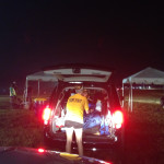 Security Checkpoint entering Dreamville Parking