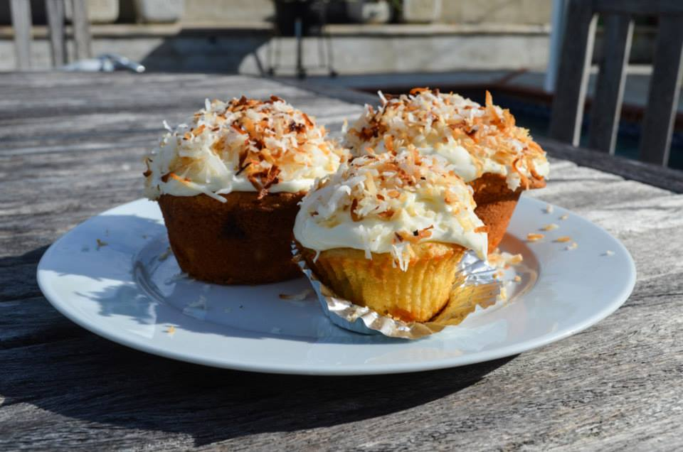 Coconut White Chocolate Cupcakes
